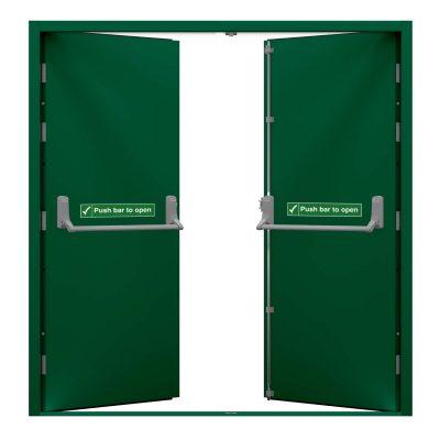 juniper green door