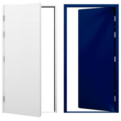 Clearance Blank Steel Doors