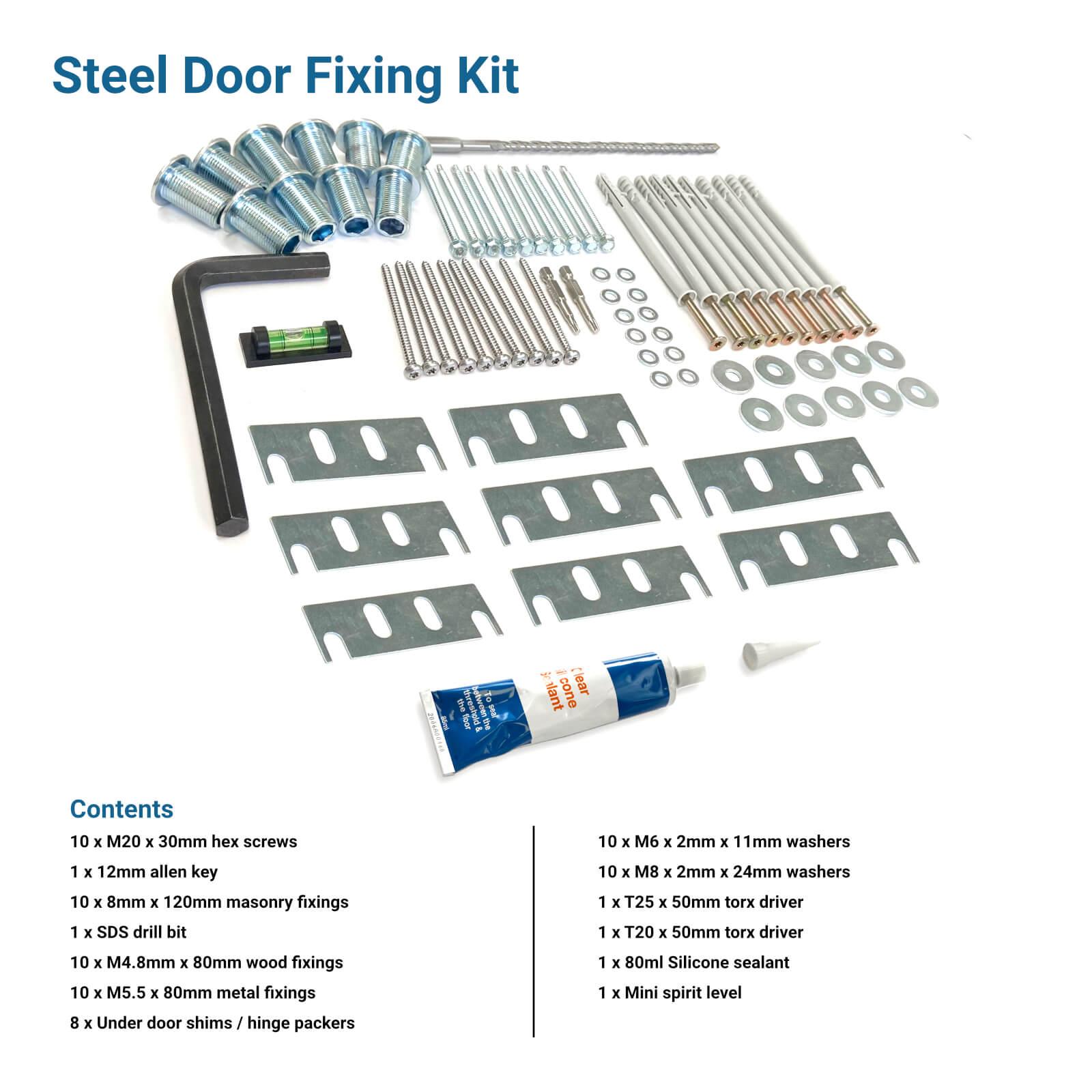 Steel Door Fixing Kit More Info